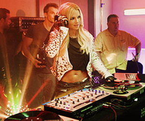 britney spears, dj, and music image