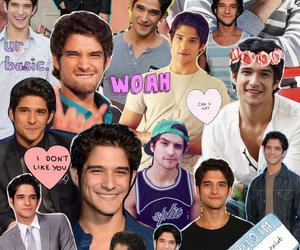 teen wolf, Collage, and tyler image