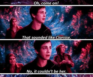 percy jackson and clarisse image