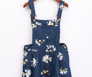 dress, dungarees, and fashion image