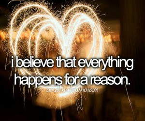 quote, believe, and reason image