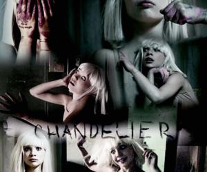 chandelier, Sia, and maddie ziegler image