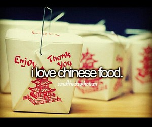 chinese food, that's me, and andthatswhoiam image