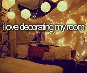 decorating, and that's who i am, and love image