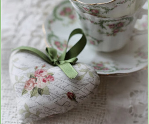 heart, beautiful, and cup image