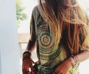 summer, boho, and style image