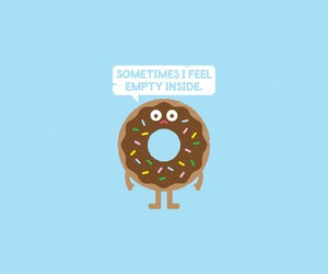 background and donut image