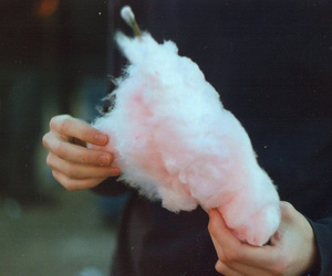 pale, cotton candy, and sugar wool image