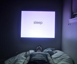 sleep, grunge, and pale image