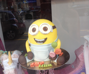 cake, happy, and minion image