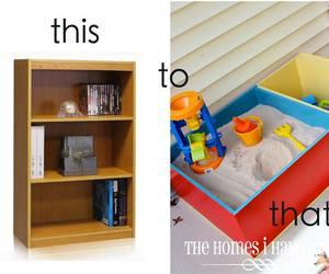 bookshelf, diy, and garden image