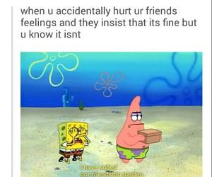 friends, spongebob, and funny image