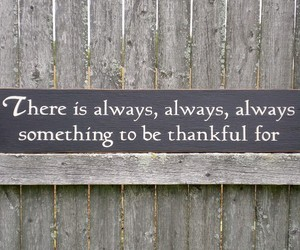 thankful, quote, and always image
