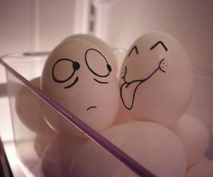 eggs, love, and lol image