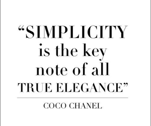quotes, coco chanel, and elegance image