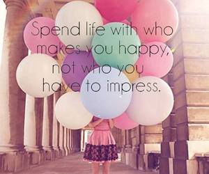 happy, life, and friends image