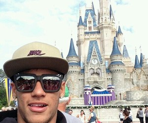 neymar, neymar jr, and disneyland image