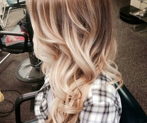 blonde hair, hairstyles, and blonde and brown hair image