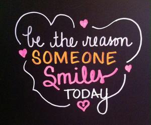 smile, quotes, and today image