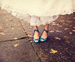 dress and turquoise image