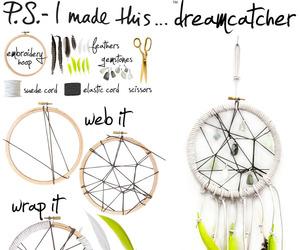 diy, Dream, and dreamcatcher image