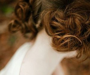 girl, photography, and hair image