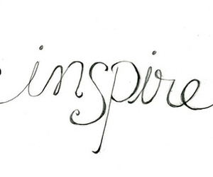inspire, quote, and text image