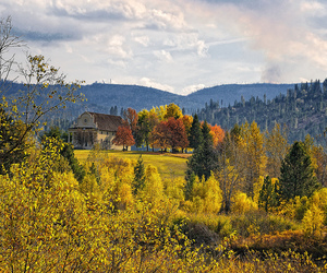 autumn, missions, and north idaho image