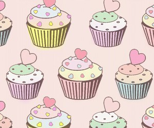 cake, cupcakes, and pink image