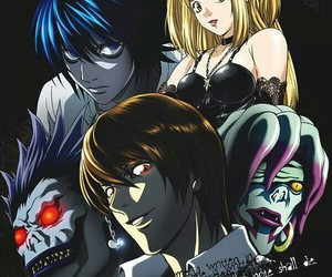 death note, L, and rem image