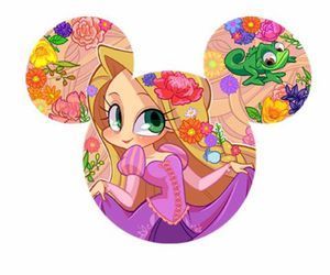 disney, mickey mouse, and princess image