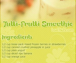 healthy and smoothie image