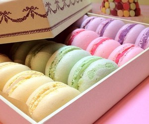 macarons, sweet, and macaroons image