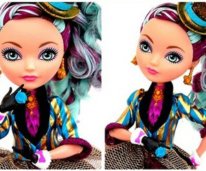doll, tea time, and ever after high image