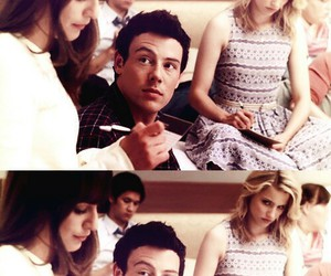 glee, quinn fabray, and lea michele image