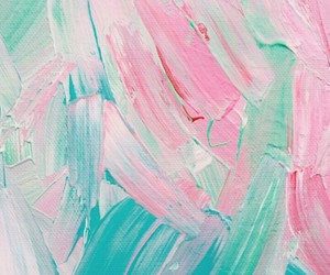 mint, paint, and pink image
