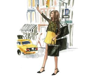 fashion and illustration image