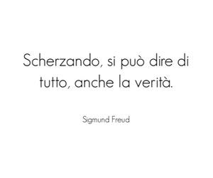 bianco e nero, sigmund freud, and frasi italiane image