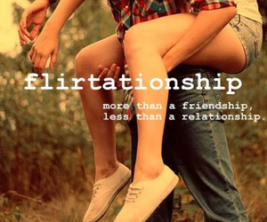 boy, flirt, and friendship image
