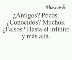 amigos, falsos, and frases image