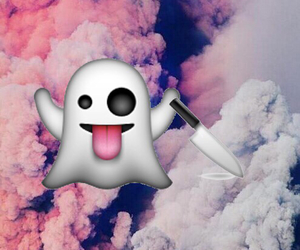 background, ghost, and knife image