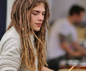 dreadlocks and hippie image