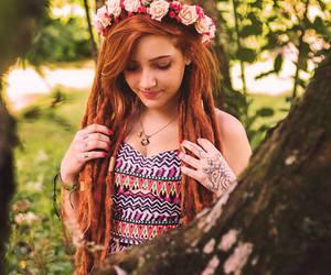 dreadlocks, hippie, and rasta image
