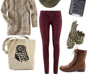 autumn, outfit, and cute image