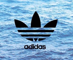 adidas, sea, and water image