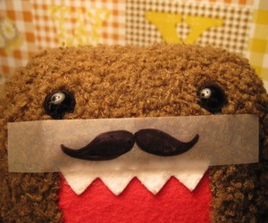 domo, mustache, and moustache image