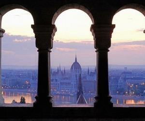 city, travel, and budapest image