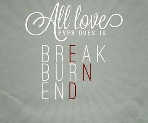 break, end, and begin again image