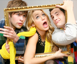 gossip girl, Chace Crawford, and blake lively image
