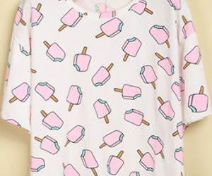 fashion, pink, and ice cream image